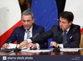Sergio Costa e Giuseppe Conte