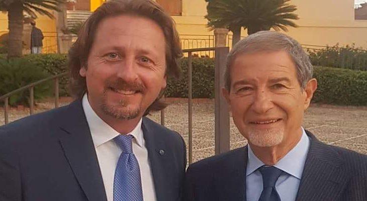 Manlio Messina e Nello Musumeci