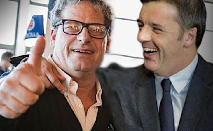 Gianfranco Miccichè e Matteo Renzi